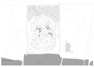 Villa Mosca Bianca ground floor plan