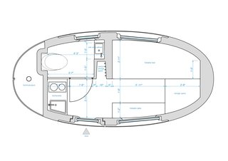 Ecocapsule Floor Plan
