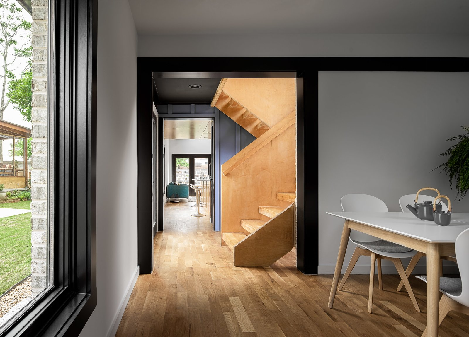 A Mews House by Alex Wu Architect Dining Room