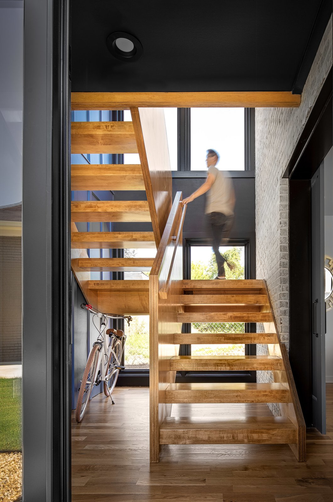 A Mews House by Alex Wu Architect Staircase
