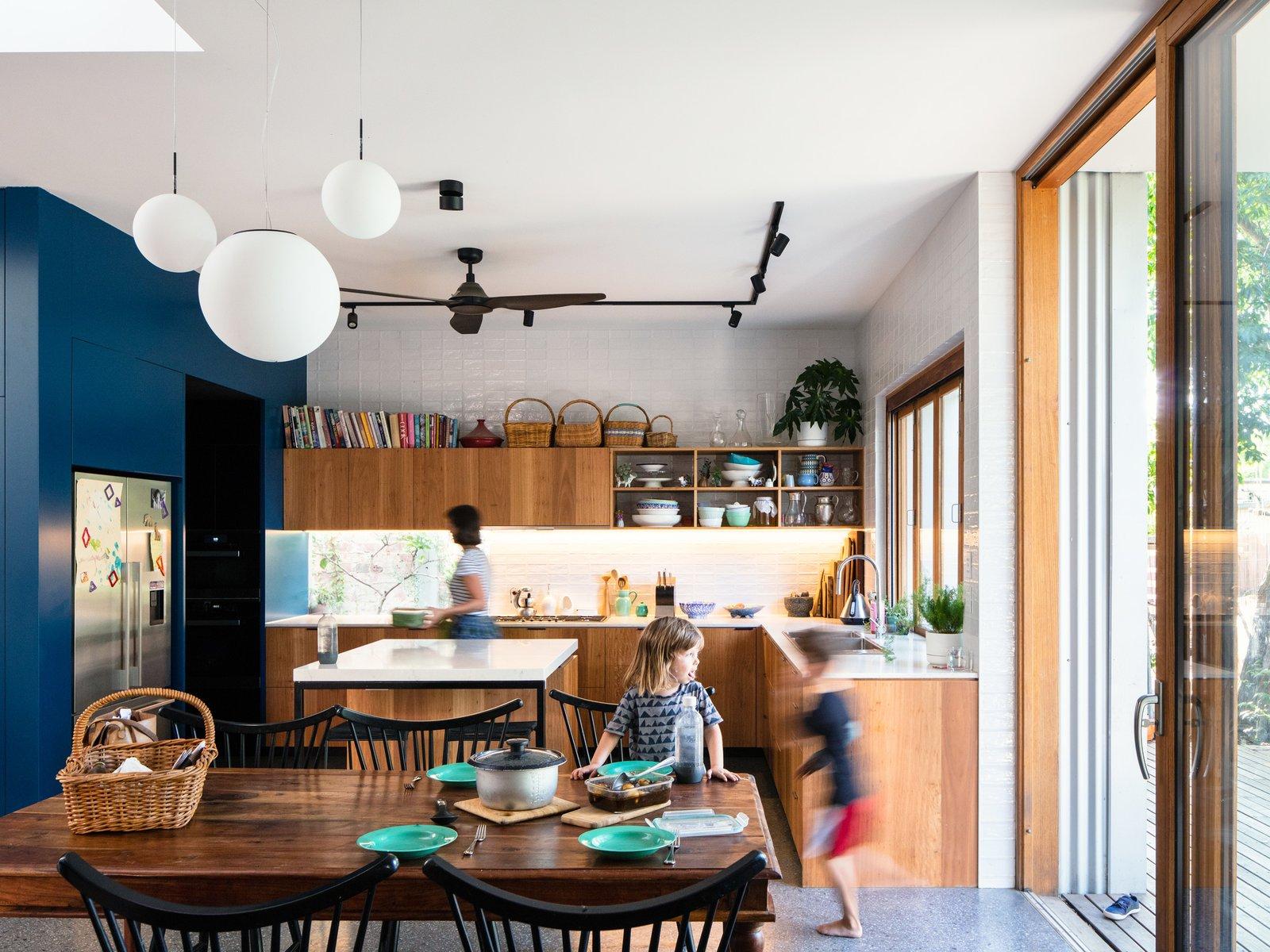 Elm Street House by Gardiner Architects Kitchen
