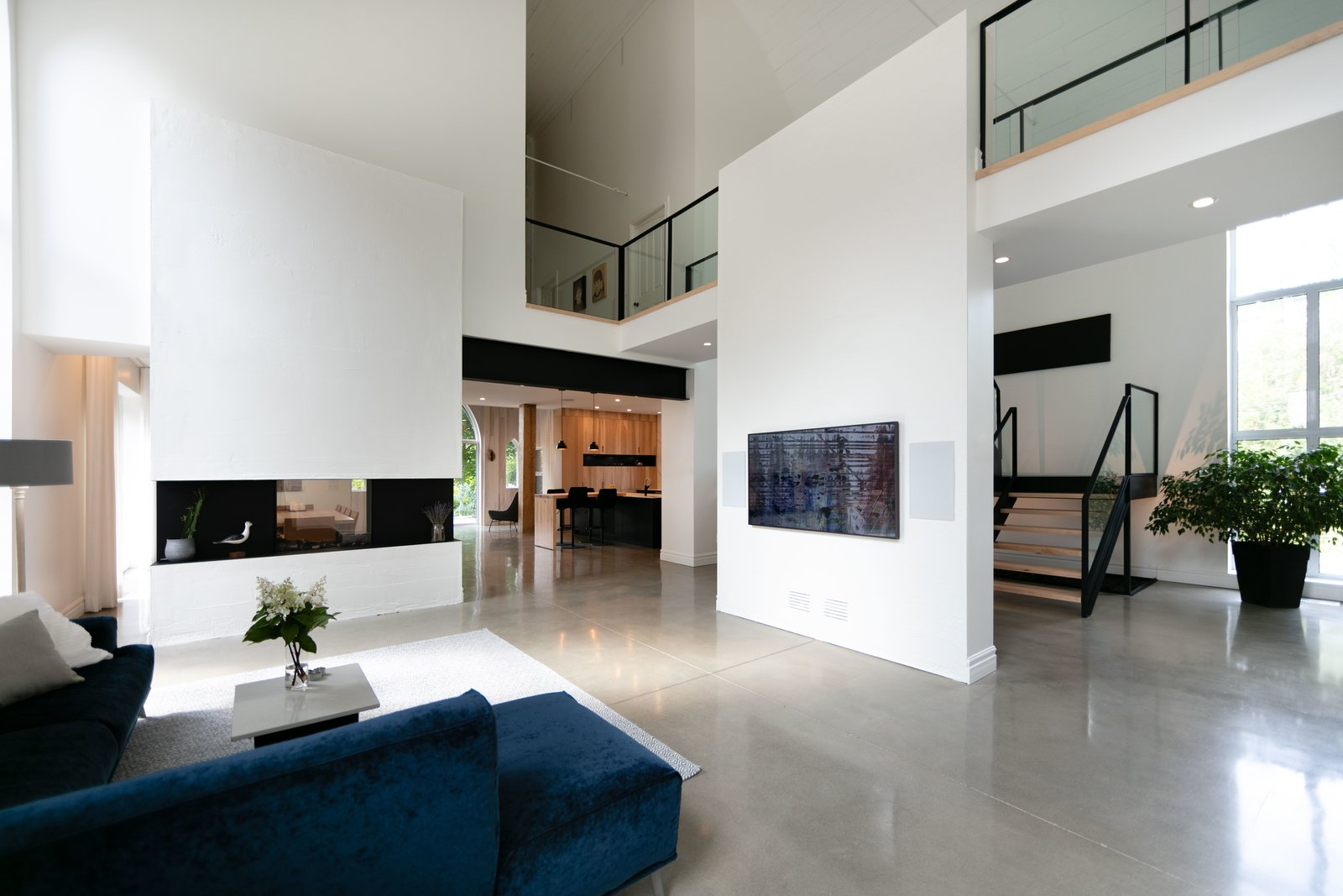 The Church House by DP Espace Design  After Interior