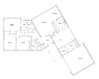 Before: Portland SW Hills Midcentury Hideaway floor plan