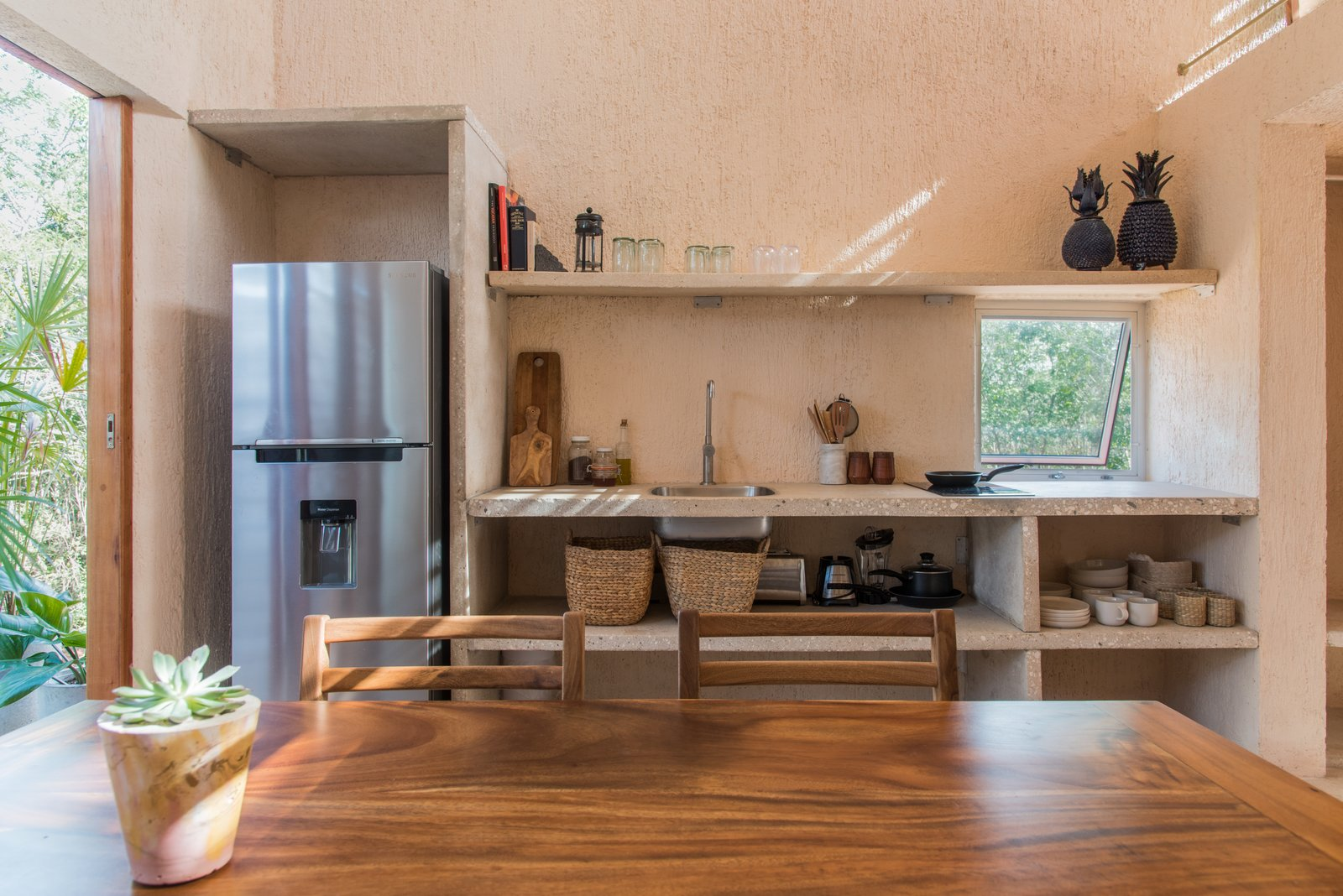 Monte House by TACO Taller de Arquitectura Contextual Kitchen