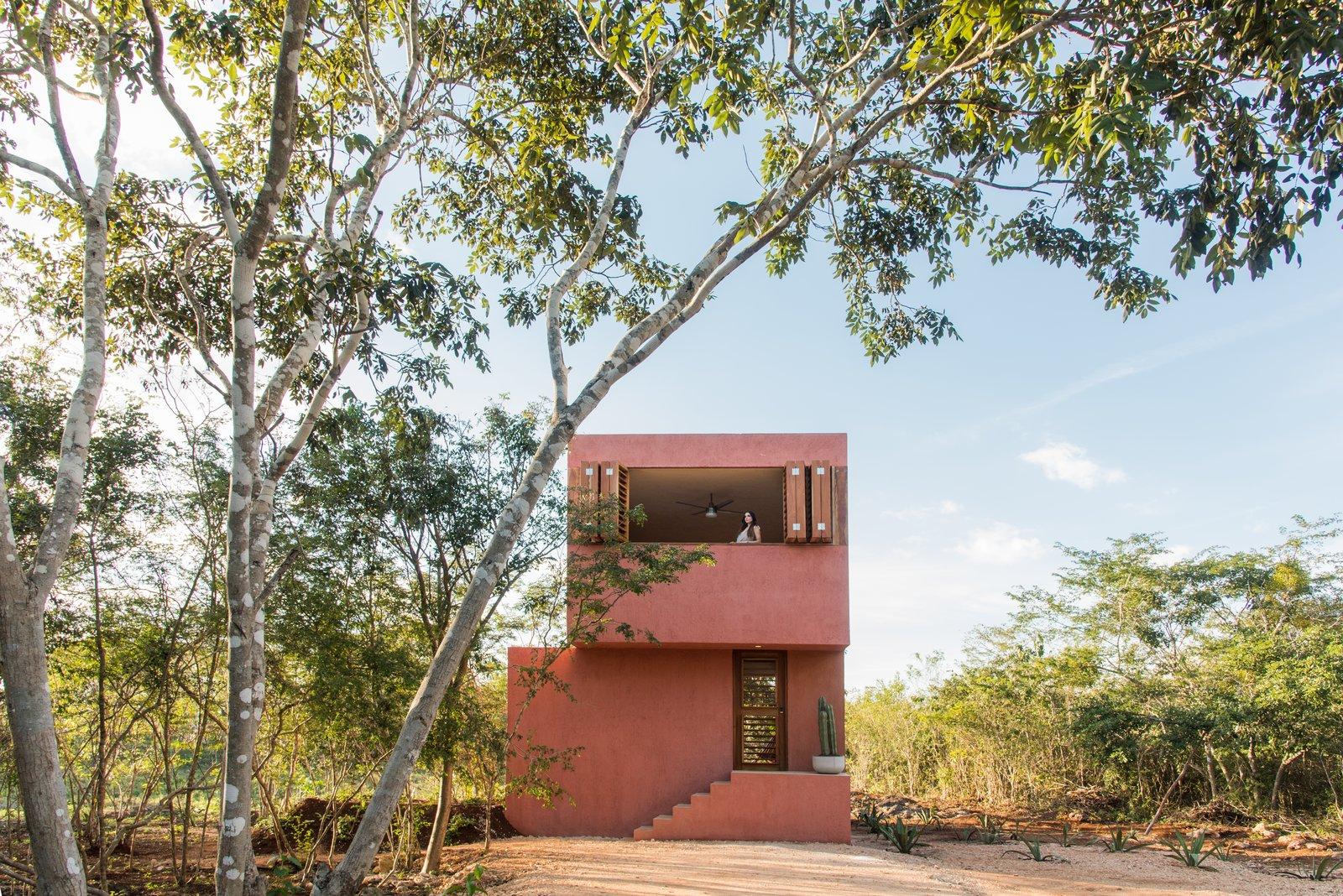 Monte House by TACO Taller de Arquitectura Contextual Exterior