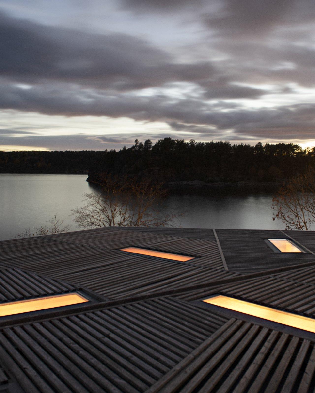 House on an Island by Atelier Oslo Skylights