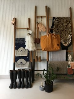 Sunny's Pop has a curated selection of home goods, artwork, textiles, clothing, and accessories.