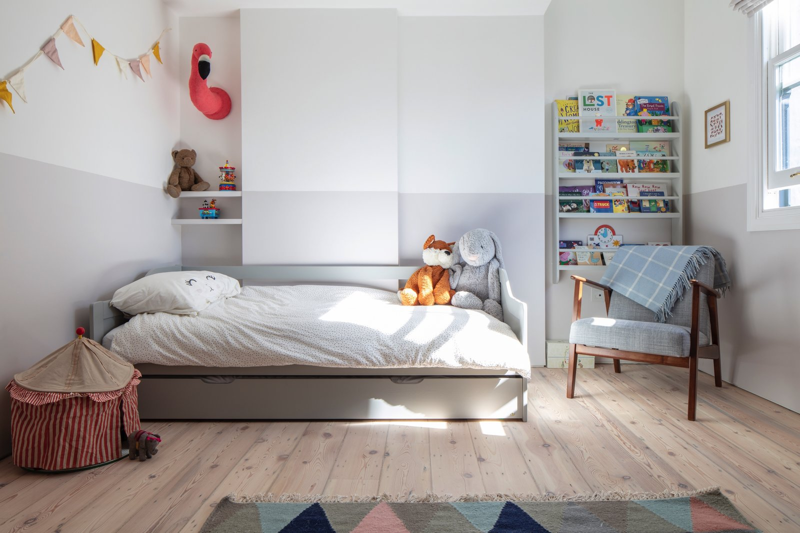 Brook Green House by Architecture for London Kid's Room