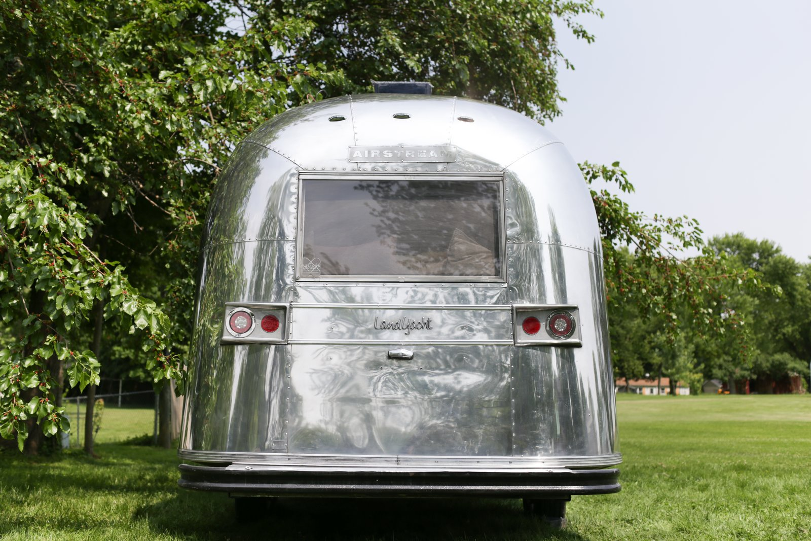 A Design Duo Give This 196-Square-Foot Airstream Caravel a Flawless Makeover