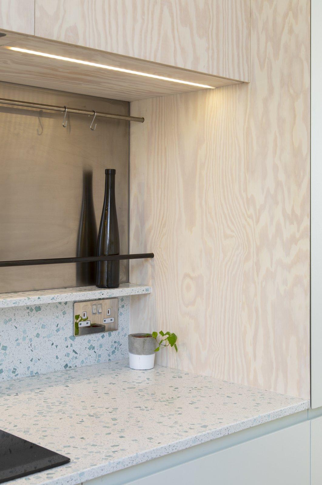 Elephant & Castle Maisonette Refurbishement by Atelier Baulier Kitchen Niche