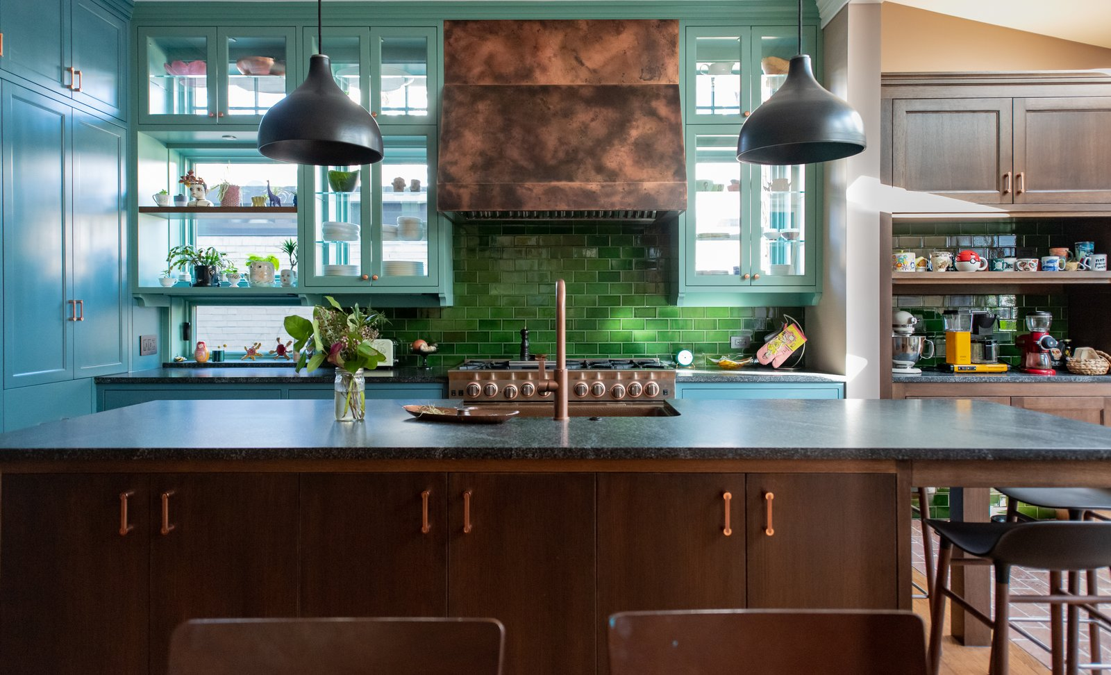 Dead Salmon Kitchen Remodel by Shumaker Design + Build Associates kitchen