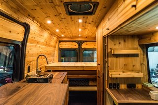 Humble Hand Craft also converts vans into campers with their signature aesthetic.