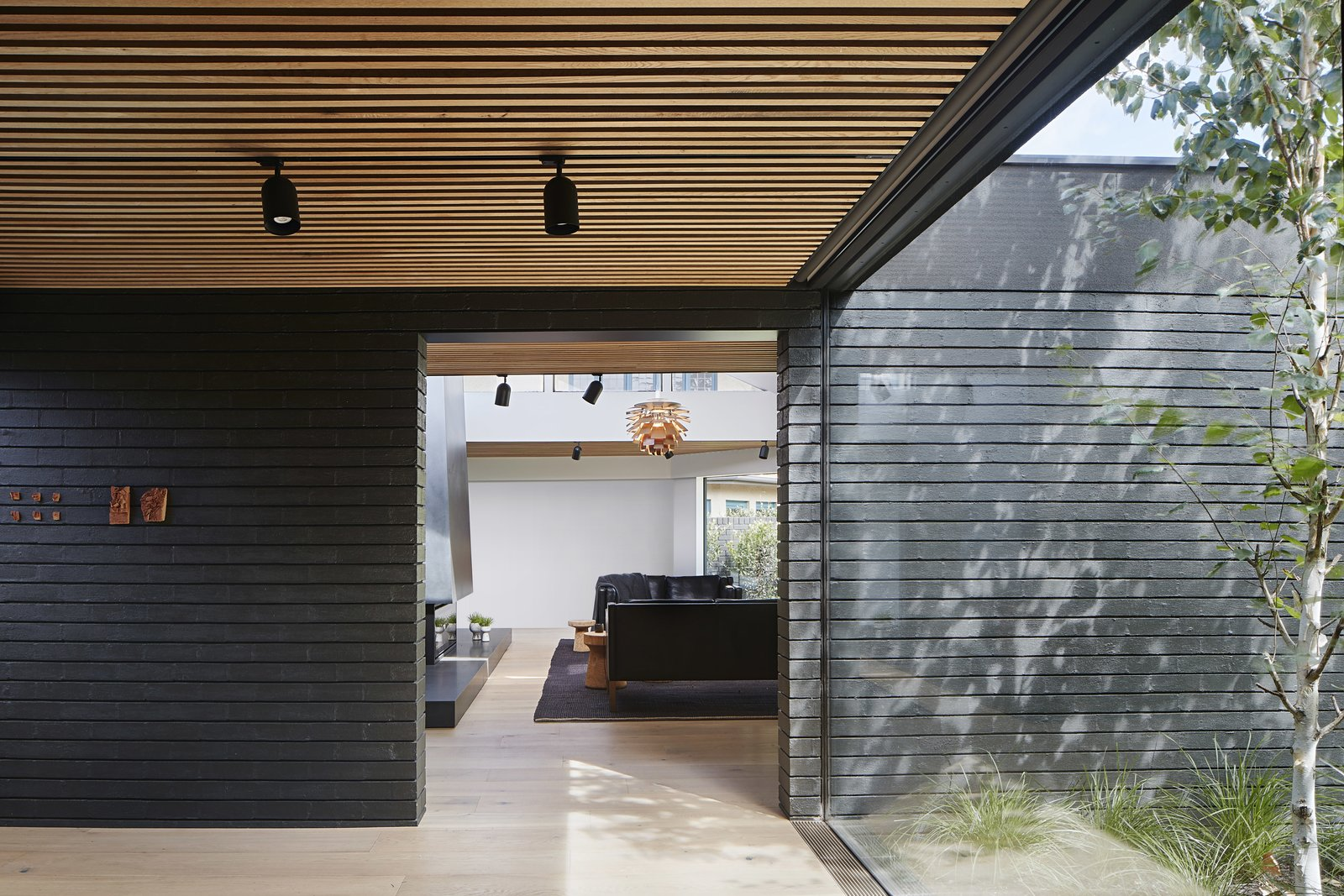 Central Park Road Residence by Studiofour Entry After