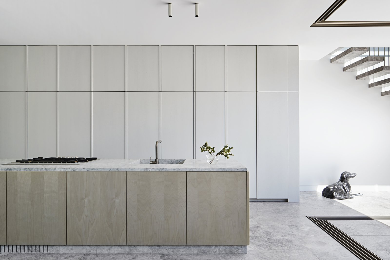 Albert Park by Robson Rak Architects Kitchen