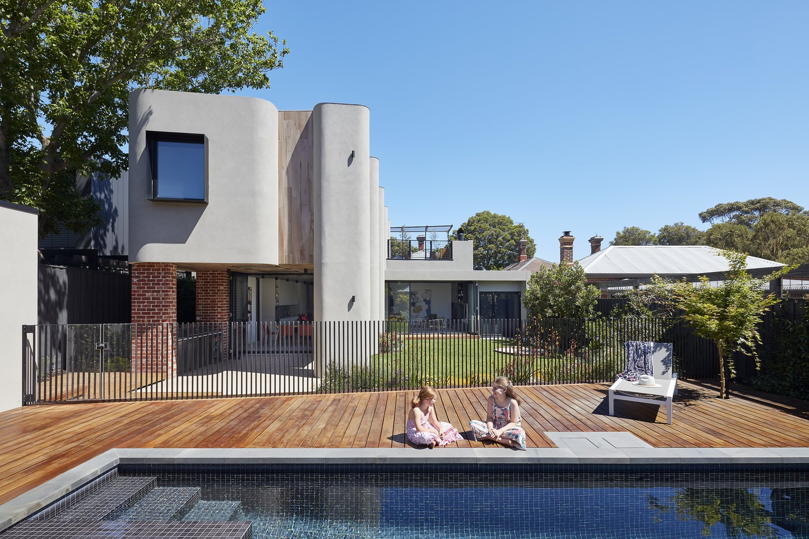 Mason House by Bryant Alsop Pool