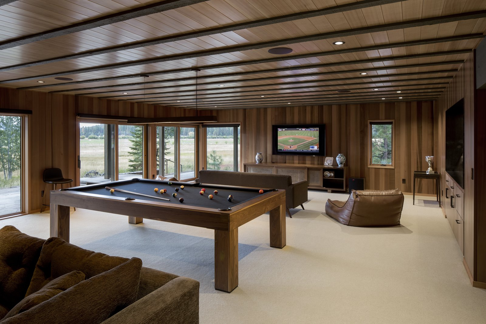 East Meadow by Woofter Architecture Game Room