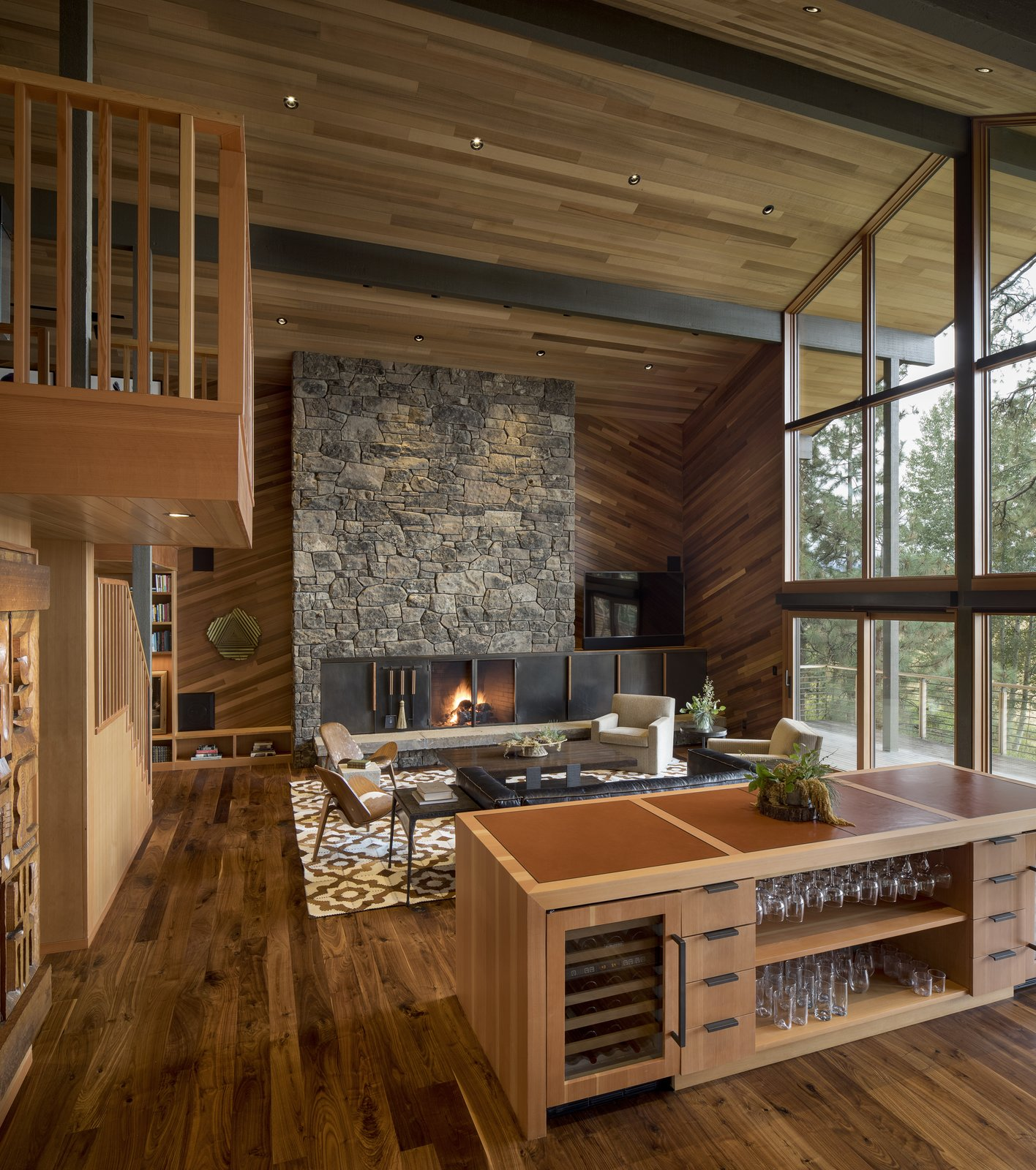East Meadow by Woofter Architecture Living Room After