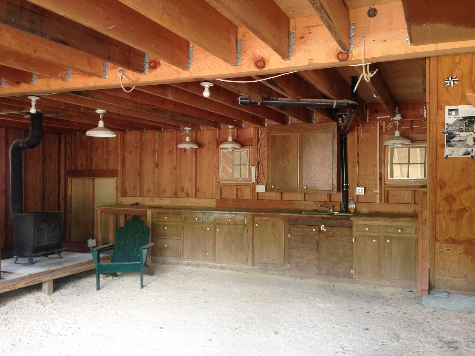 Tack Barn Reuse by Faulkner Architects Before