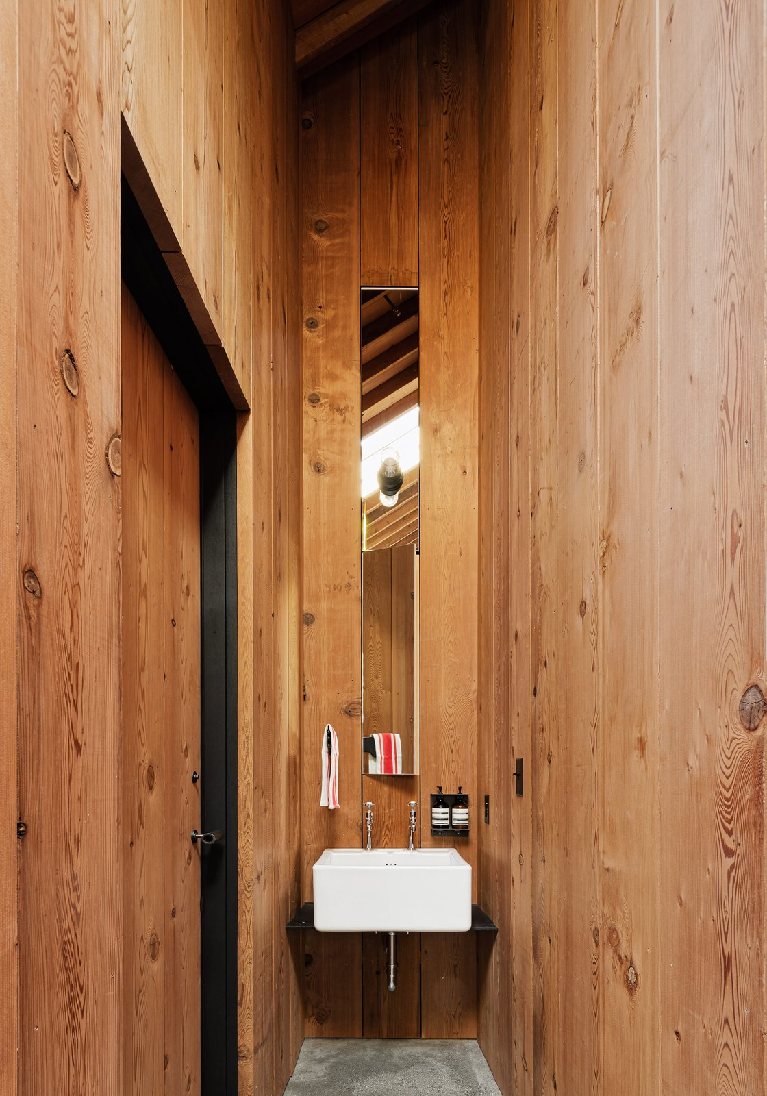 Tack Barn Reuse by Faulkner Architects Bathroom