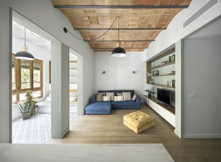Before & After: A Divided Apartment in Barcelona Turns Into a Sunny, Social Home
