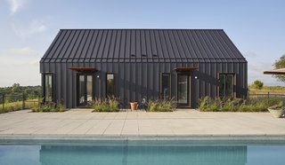 A Minimalist, Scandinavian-Style Home Rises on a Flourishing Wisconsin Prairie