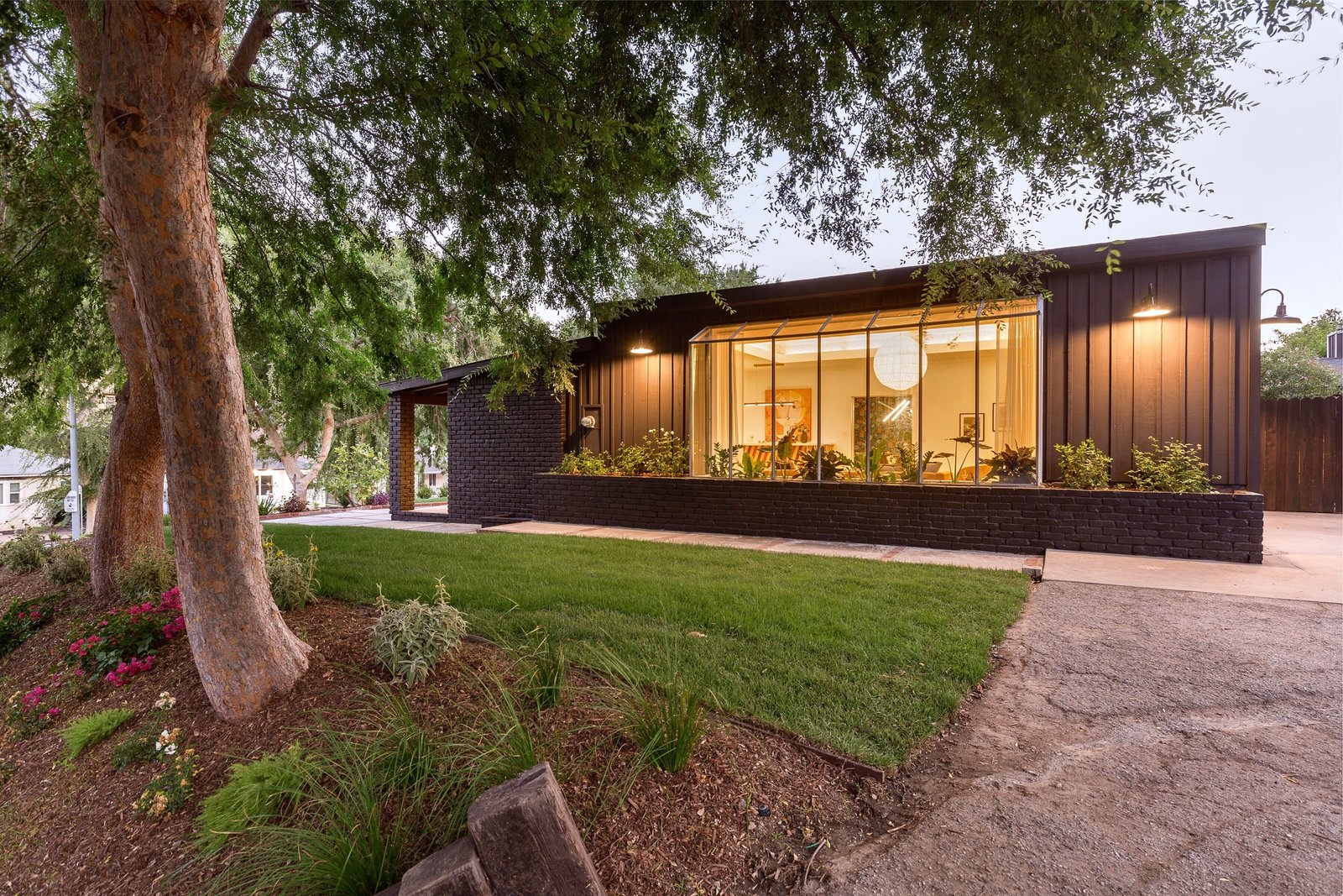 Monterey Hills Midcentury Ranch by Tony Wei Exterior After