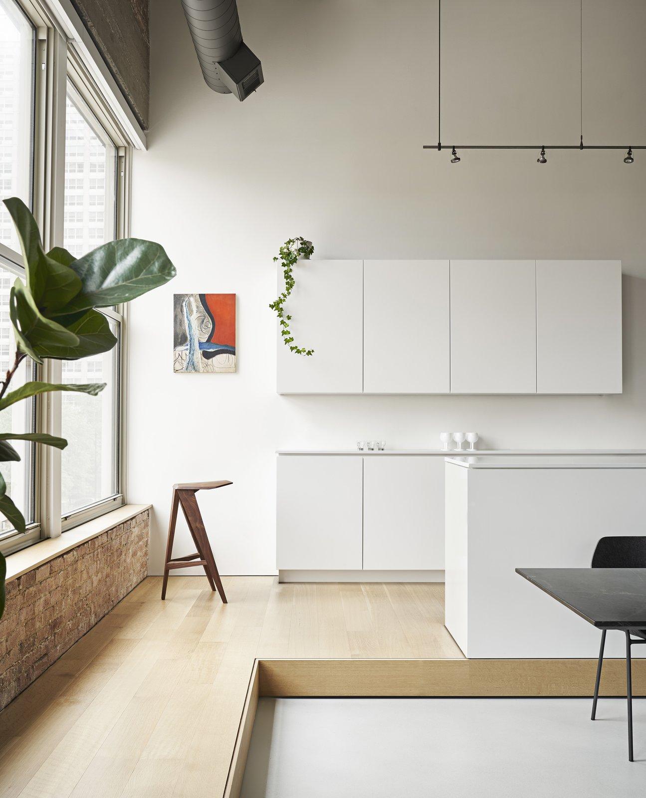 Michigan Loft by Vladimir Radutny Architects kitchen