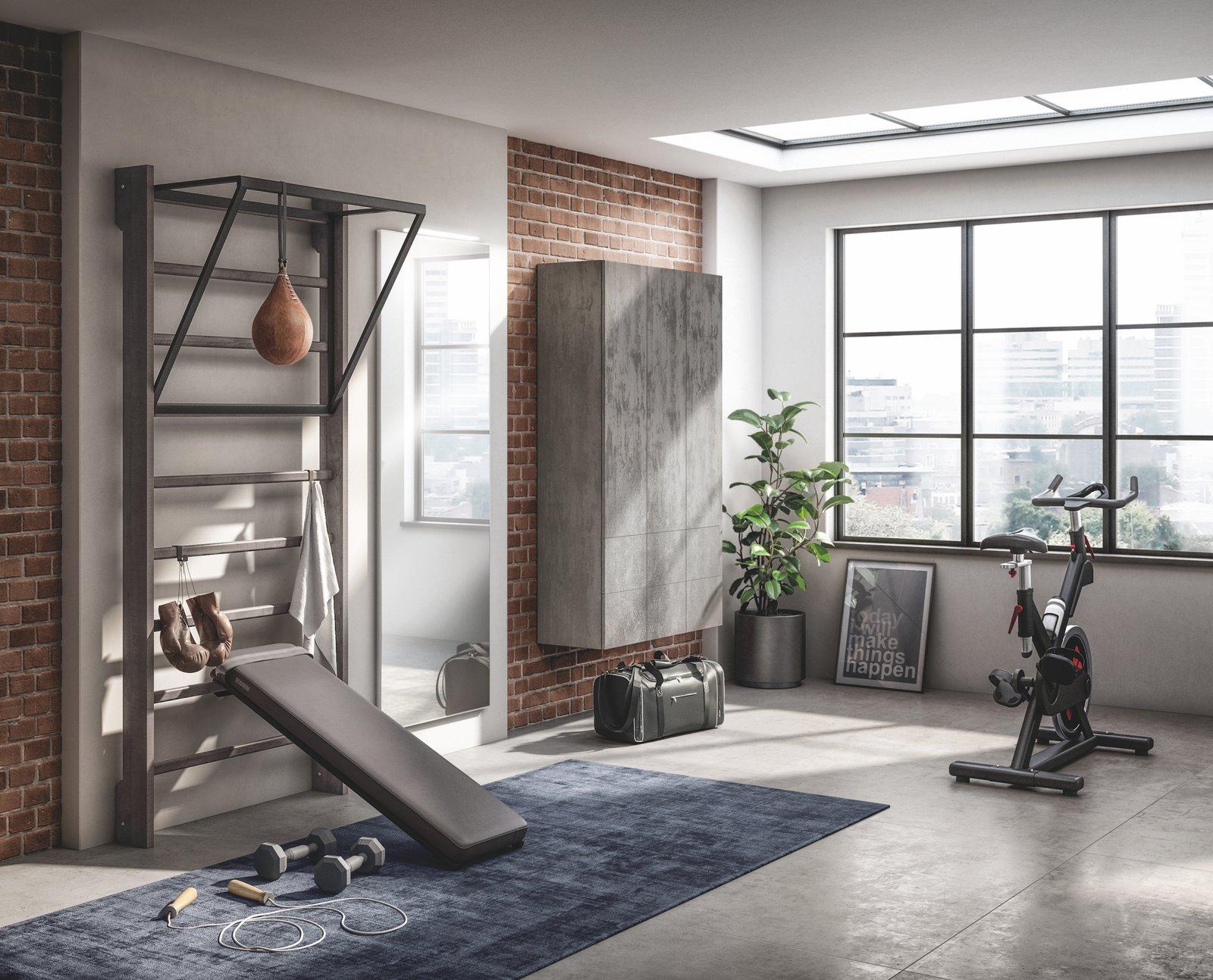 Gym Space by Scavolini and Mattia Pareschi