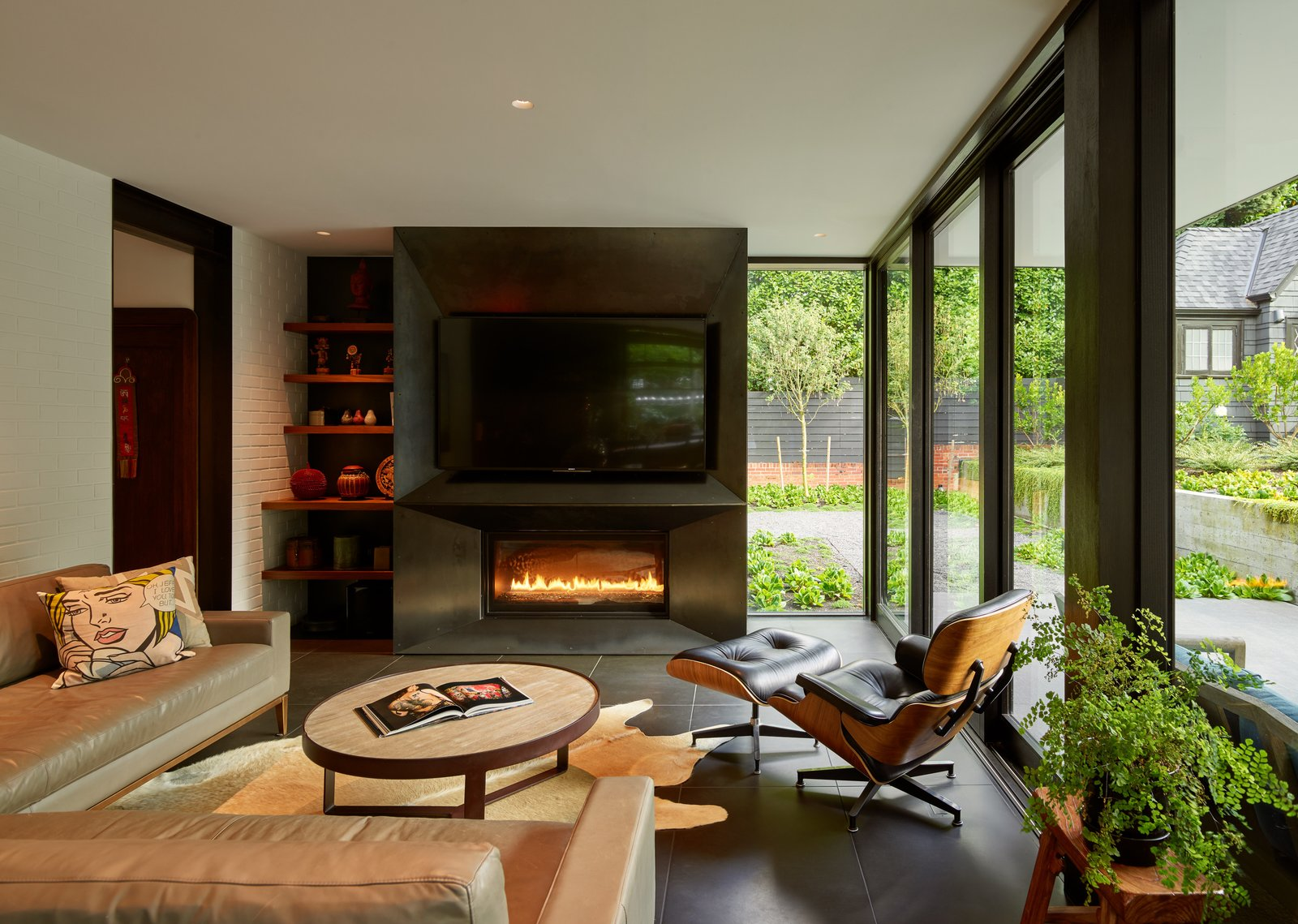 Past Present House by chadbourne + doss architects family room