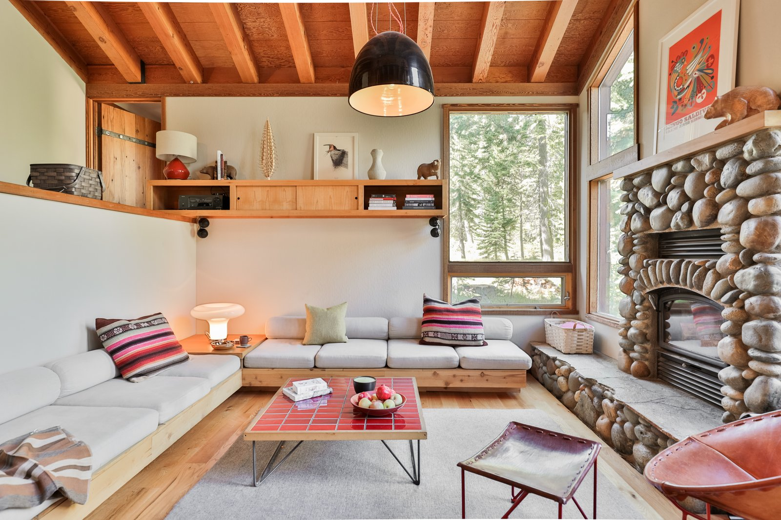 A Cabin by Heath Living Room