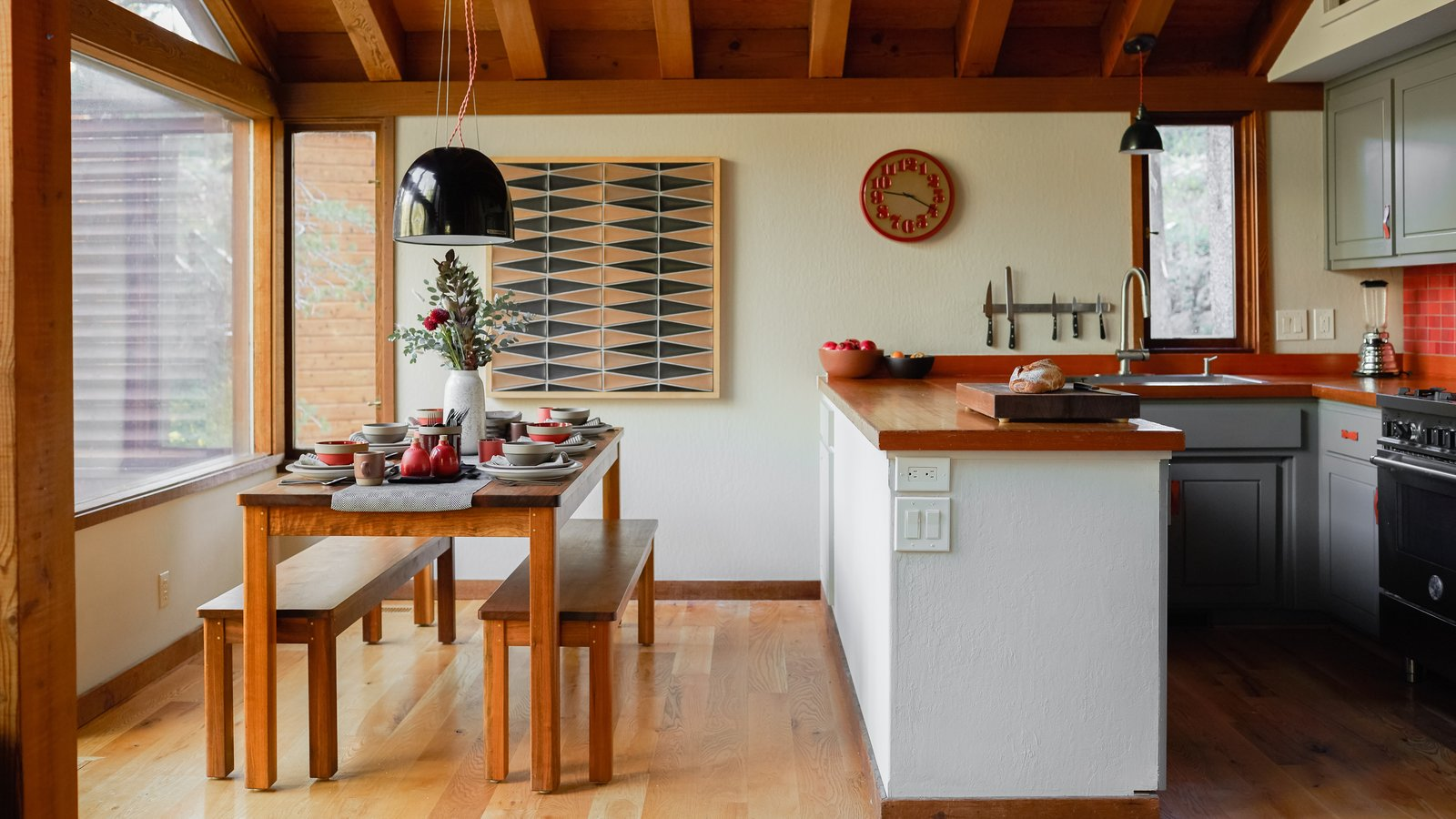 A Cabin by Heath Dining Room