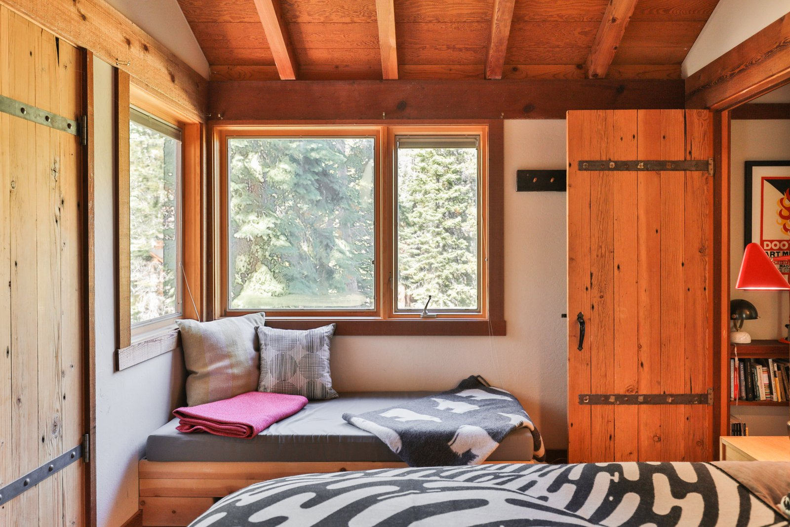 A Cabin by Heath Bedroom Window Seat
