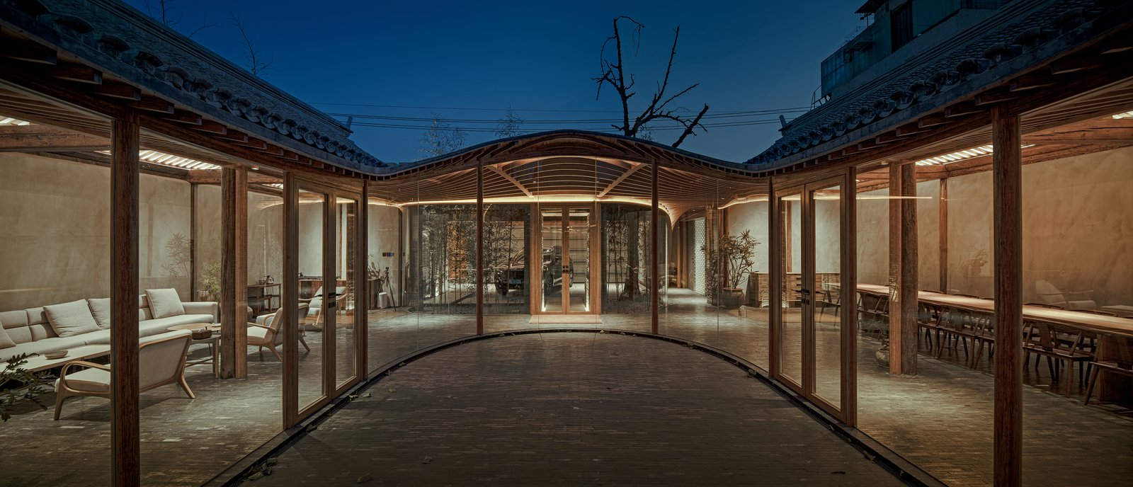 Qishe Courtyard by ARCHSTUDIO
