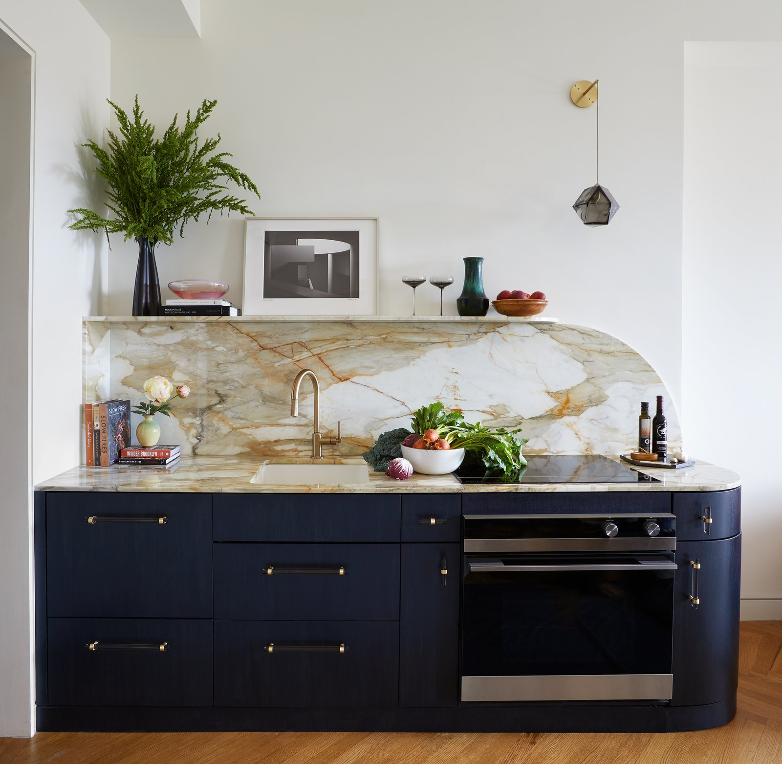 AFter: Brooklyn Art Deco Duplex kitchen