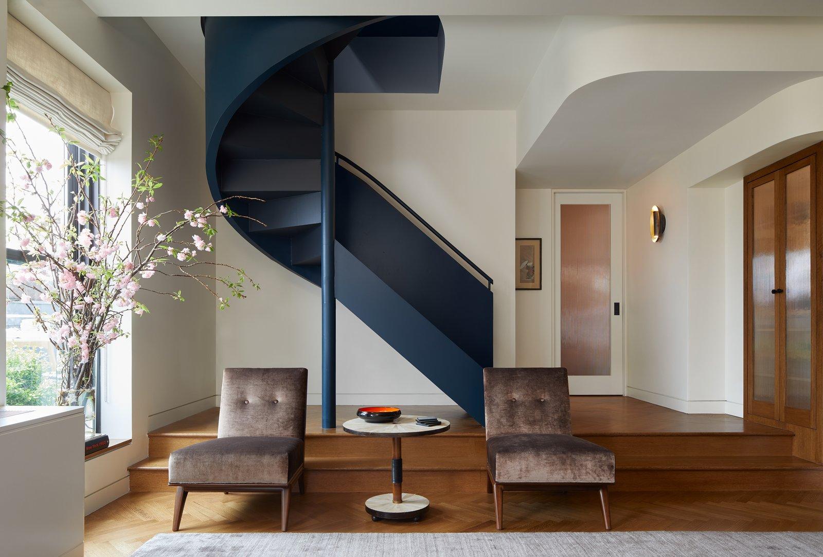 After: Brooklyn Art Deco Duplex living room