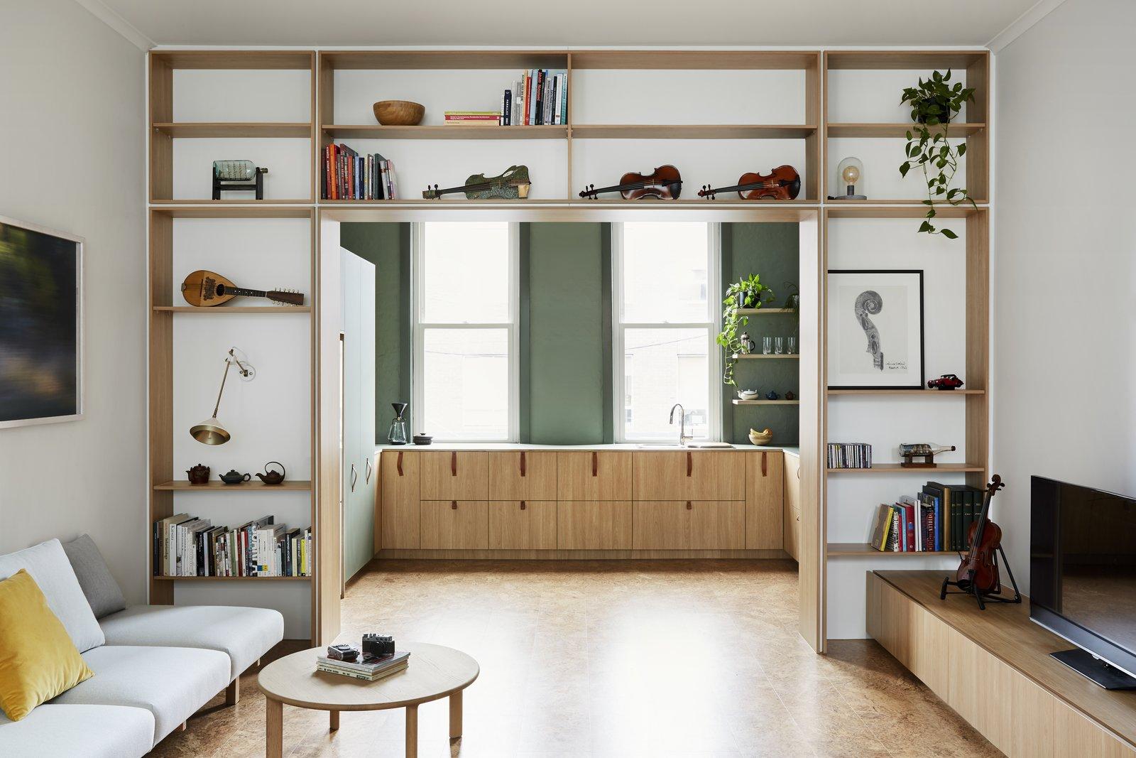 Atop a Shop by tsai Design Living room