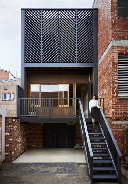 Tsai Design was able to double the home's footprint via a rear addition that includes two bedrooms and two bathrooms. (The original home was 645 square feet, and the extension added 614 square feet.) The firm then introduced plenty of natural light and three separate exterior decks that add up to 270 square feet of outdoor space.