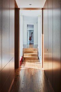 来自新添加朝向的视图共享生活区示出了房间是如何连接的。