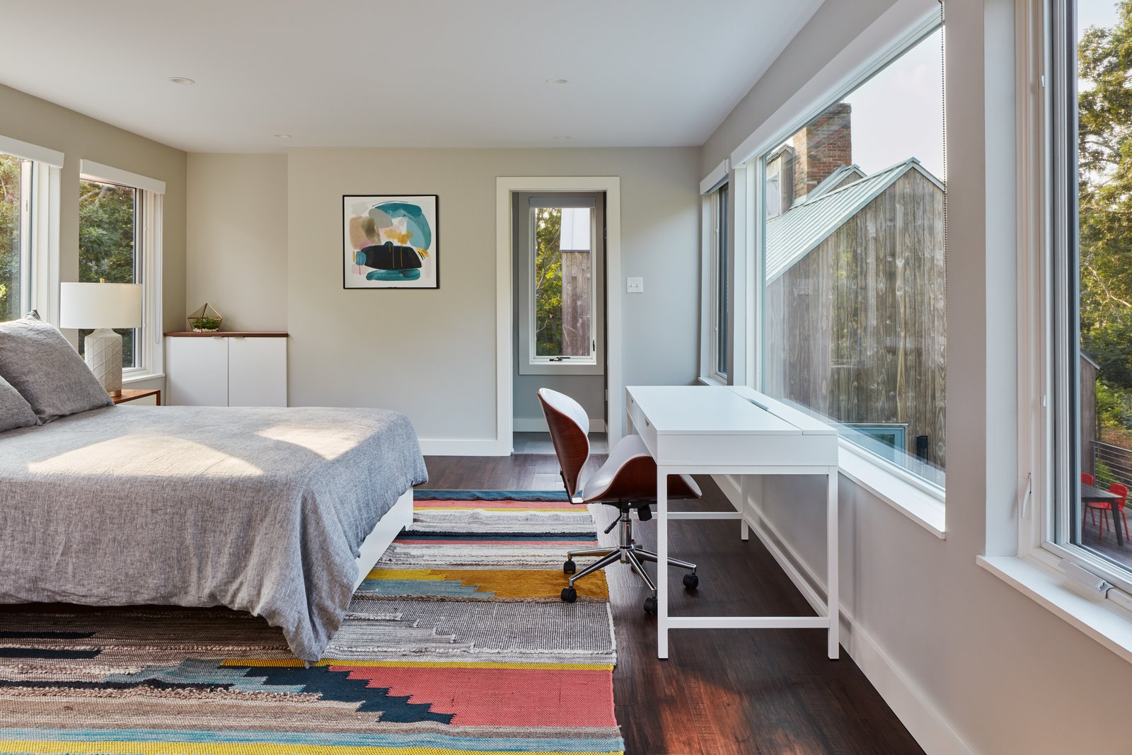 Morris Island Residence by Monte French Design Studio bedroom