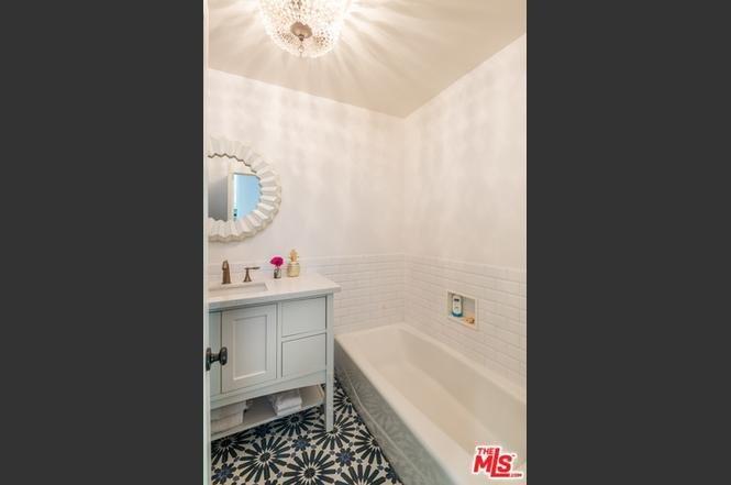 Before: Bathroom of Sunshine Terrace by Sarah Zachary