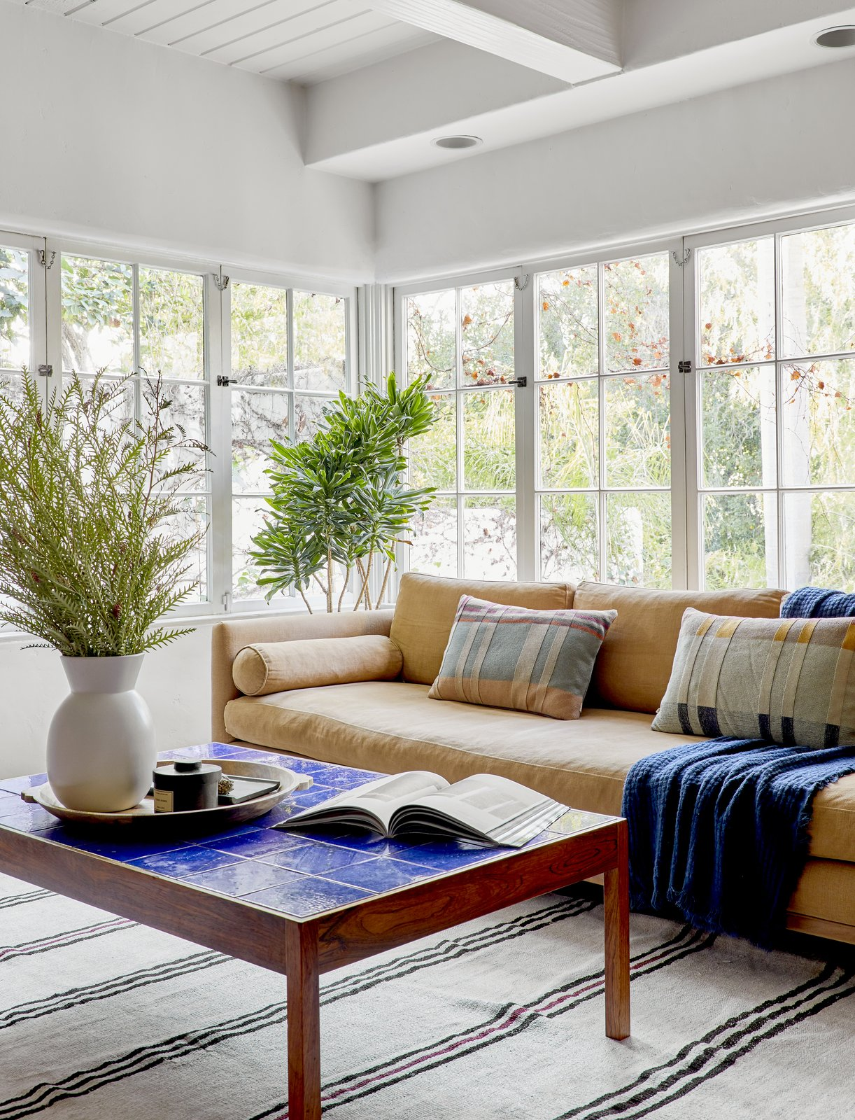 After: Living room of Sunshine Terrace by Sarah Zachary