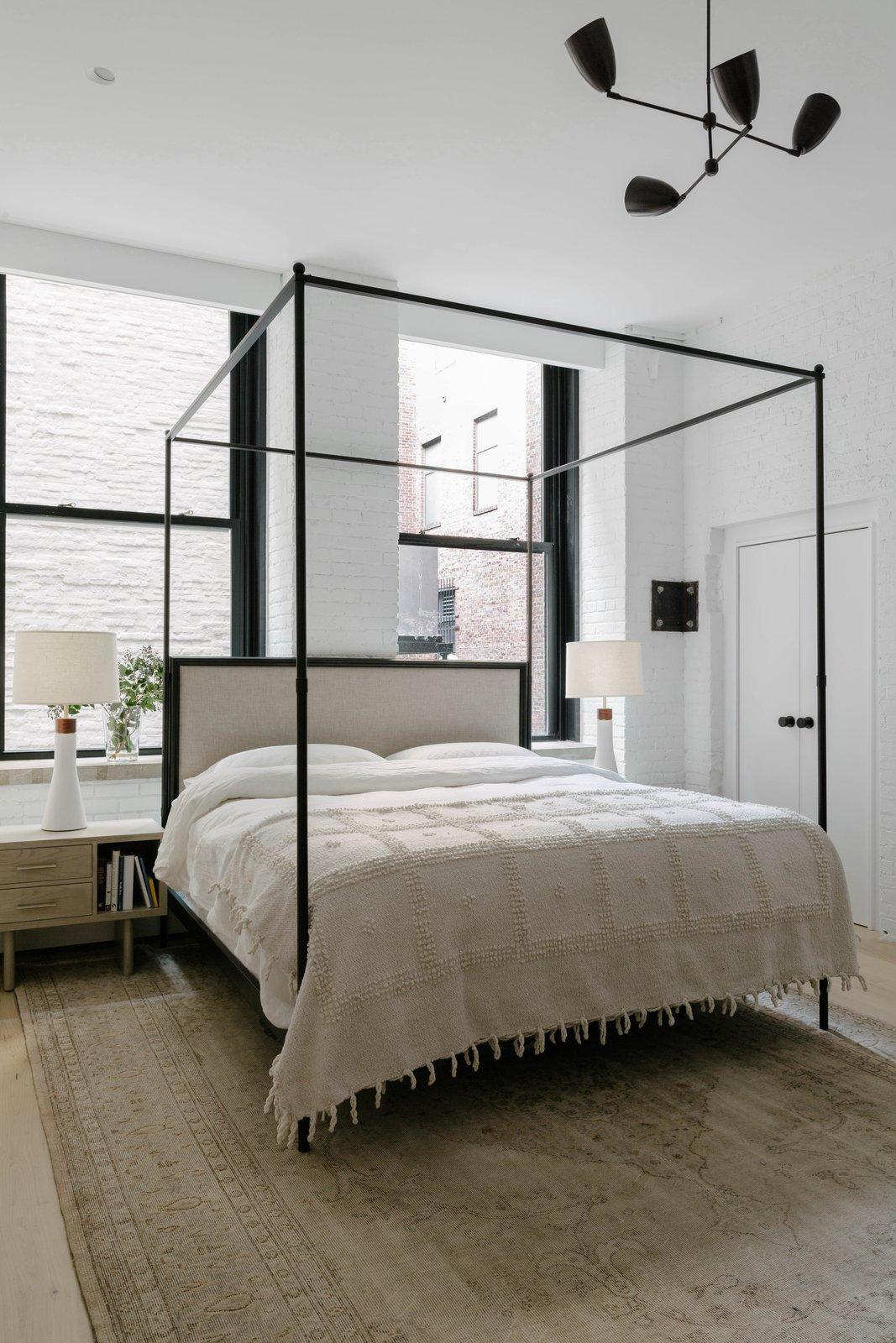 After: Spears Building Loft master bedroom