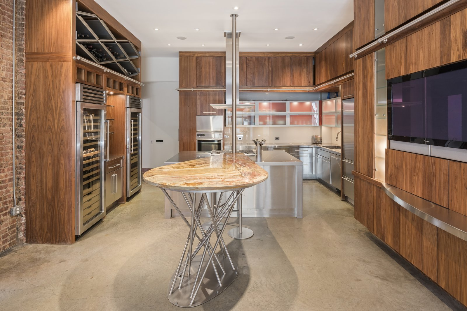 Before: Spears Building Loft kitchen