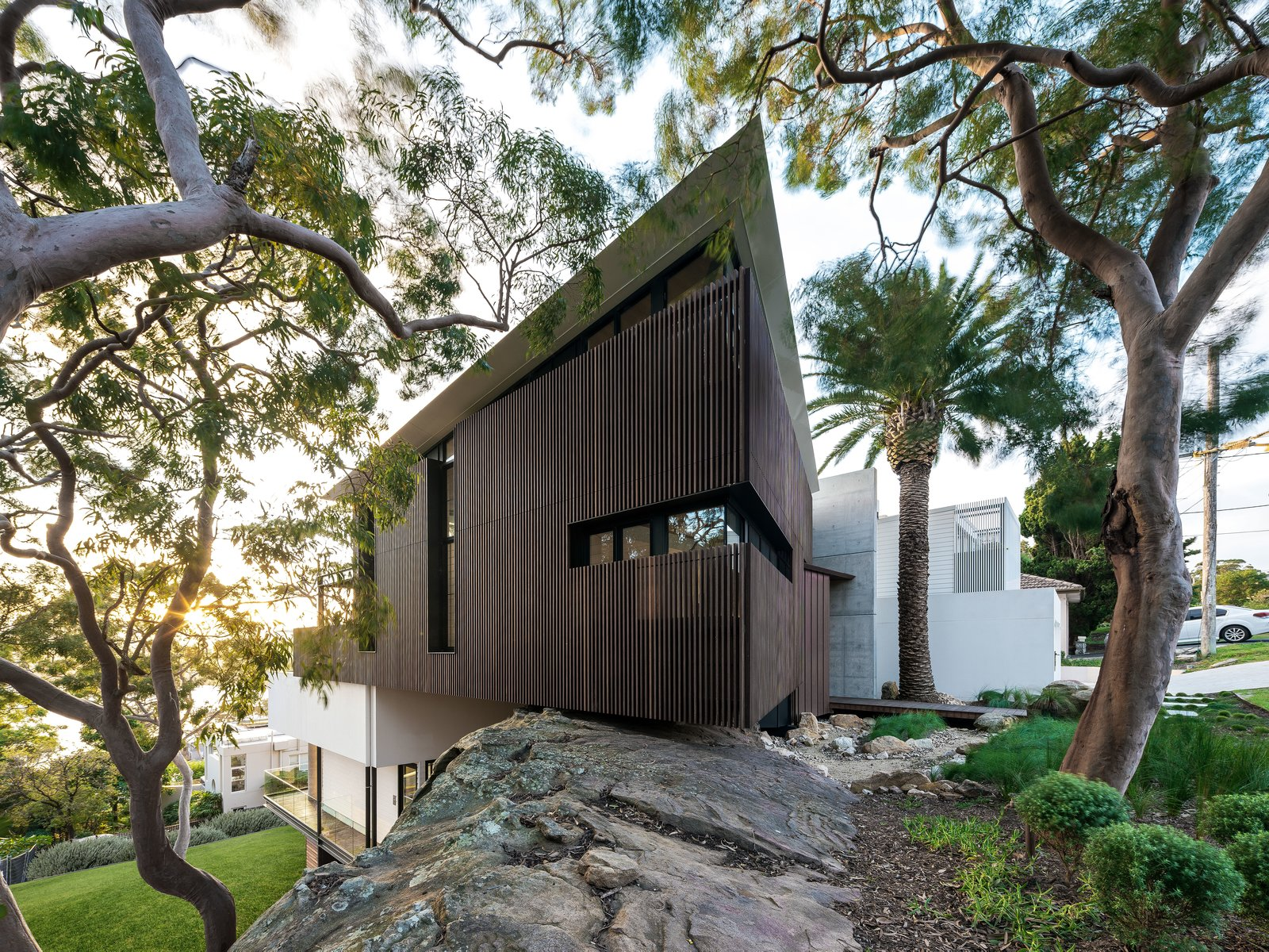Exterior of Higher Ground by Stafford Architecture