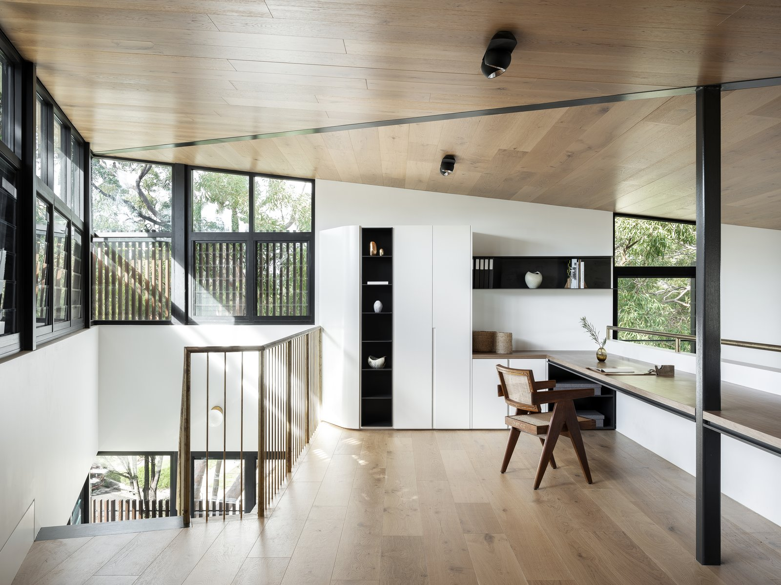 Mezannine of Higher Ground by Stafford Architecture