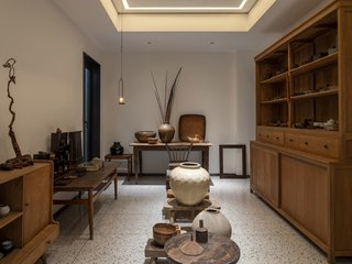 Guang's collections room.