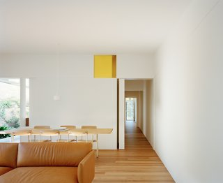 The architect also kept the home's traditional organization around a central corridor.