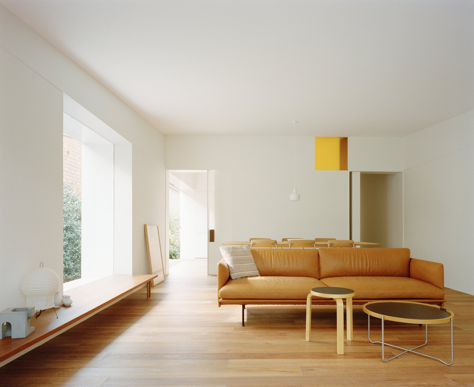 Living area of JJ House by Bokey Grant