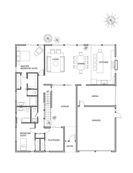 The remodel plan.