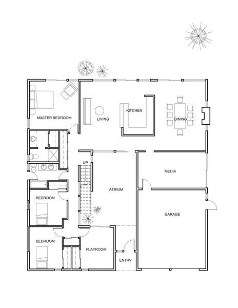 Before: Floor plan